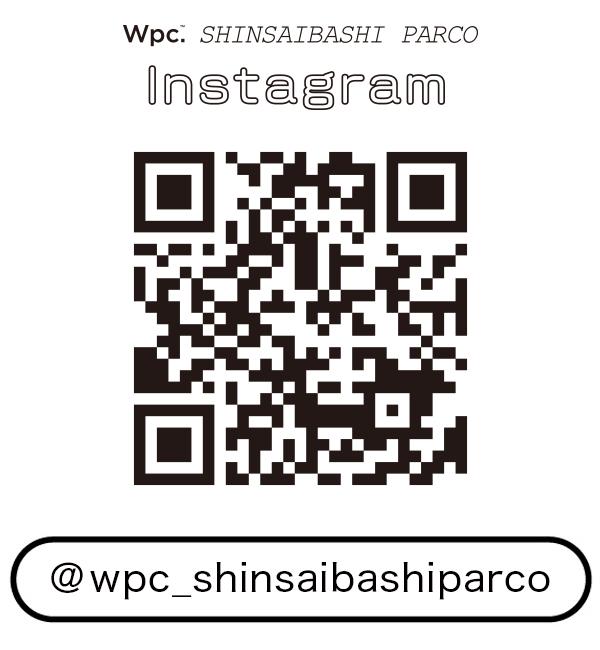 Wpc.心斎橋パルコ店 インスタグラムQRコード